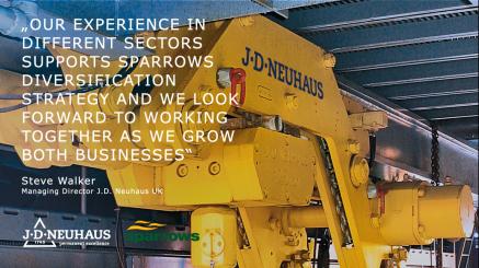 J.D. NEUHAUS Group unterzeichnet eine langfristige Servicepartnerschaft mit Sparrows Group für den Markt im Nahen Osten