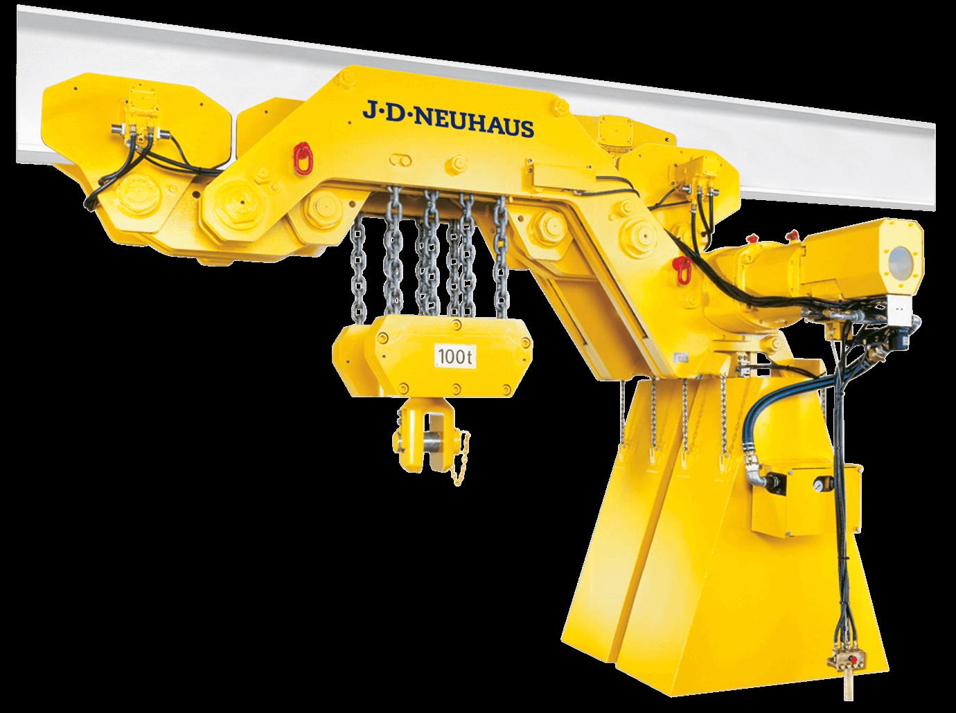 JDN Ultra Low Monorail Hoist