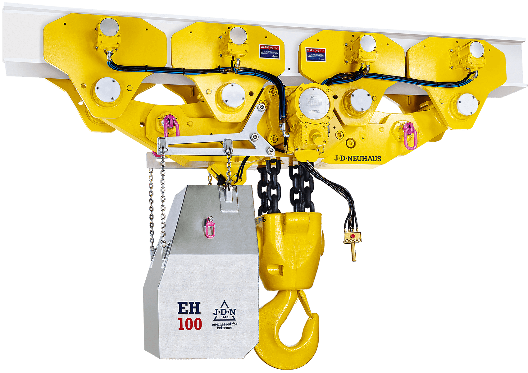 JDN Monorail Air Hoist