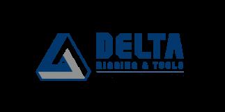 JDN References: Delta Rigging & Tools Logo - Pneumatic Hoists