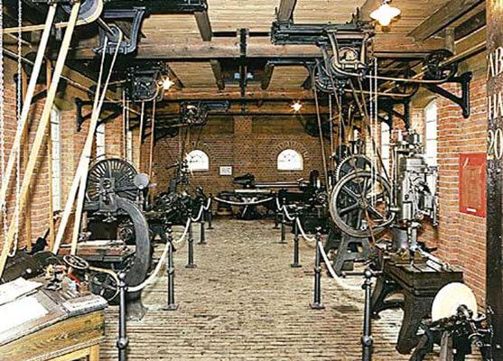 Die Windenfabrik J.D. Neuhaus um 1900