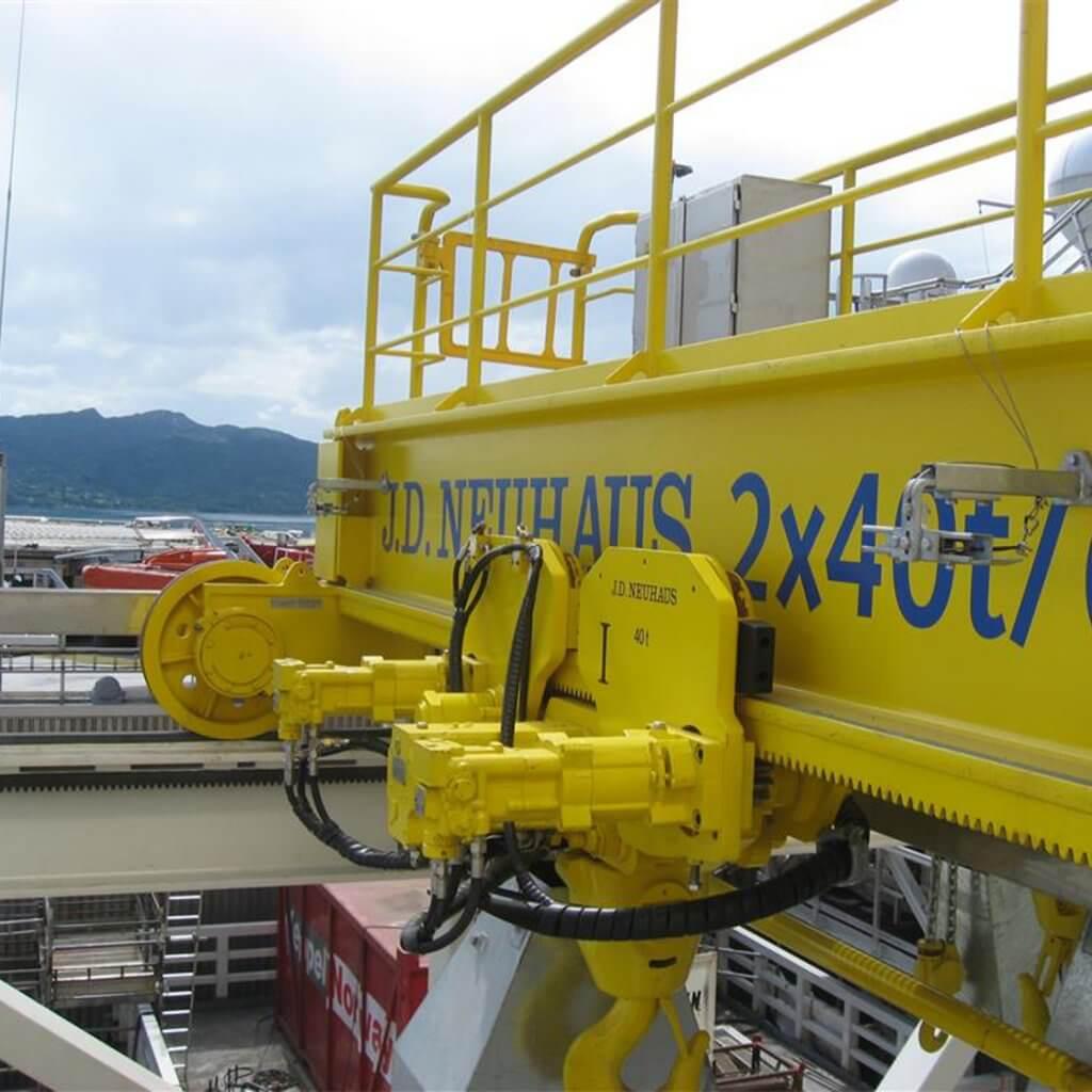Oil & Gas Offshore crane