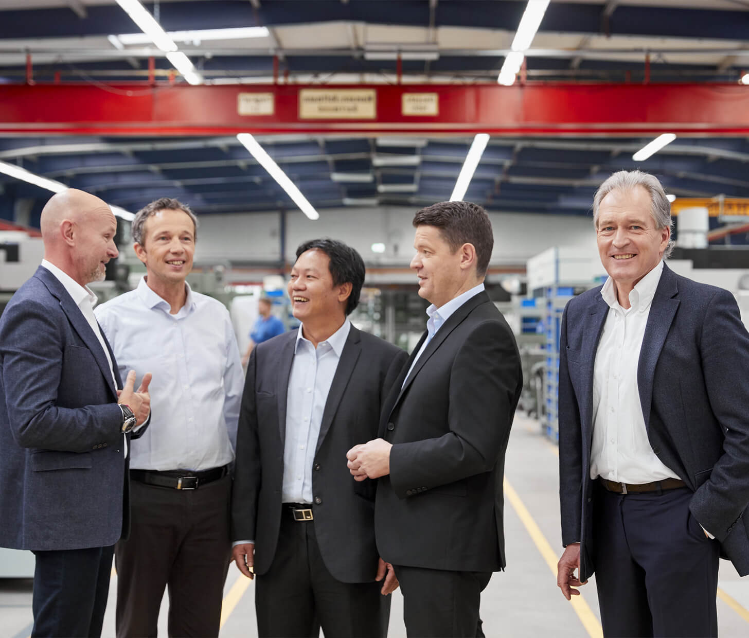 The managing directors of the hoist manufacturer J.D. Neuhaus