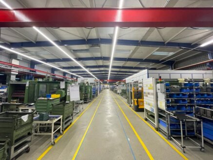 Changeover to LED lighting in the entire JDN plant in Witten